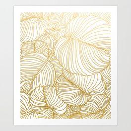 Wilderness Gold Art Print