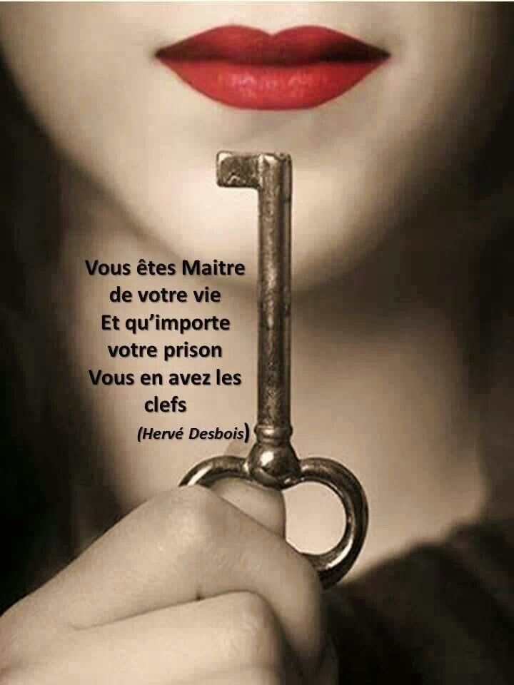 "WISE ❈ WORDS . ""You are your life's master. No matter what prison you set yourself in, you have the keys."""