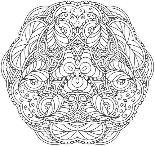 1000 best mandalas para imprimir images on Pinterest Coloring - best of mini mandala coloring pages