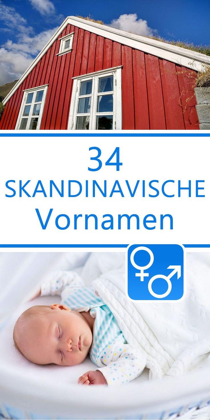 34 skandinavische Vornamen für Jungen und Mädchen  Hier findest du 34 handverlesene skandinavische Vornamen für Jungen und Mädchen. Suchst du einen Babynamen mit einer anderen Herkunft, so schau doch einmal hier!Eine alphabetisch sortiere Liste mit allen 2974 Vornamen findest du hier....