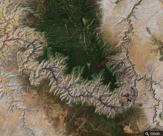Grand Canyon, struttura frattale