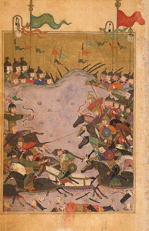 The Battle of Khusraw and Bahram Chubina