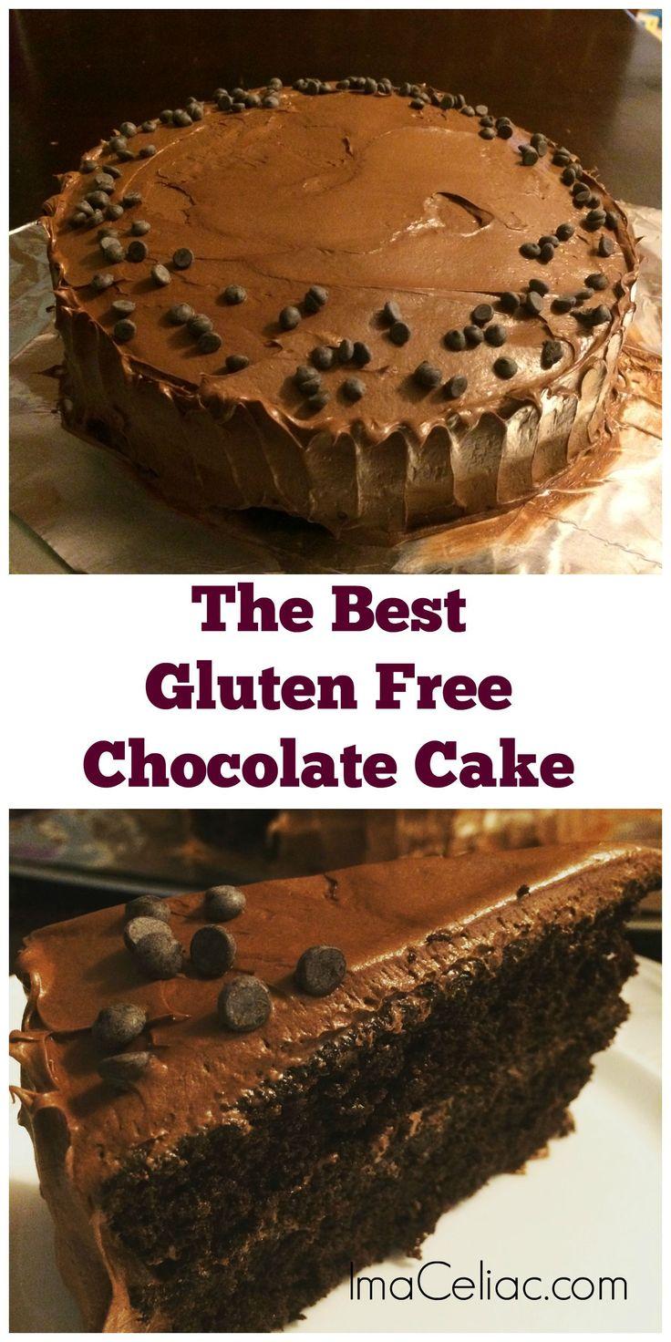Gluten Free Homemade Chocolate Cake