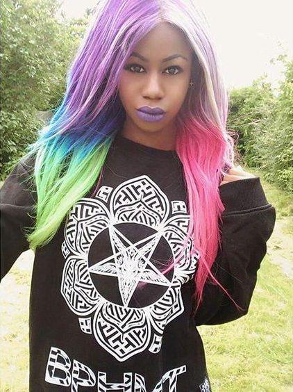"""Baphomet Lotus"" Sweatshirt - on sale for £20 at www.crmc-clothing.co.uk | WE SHIP WORLDWIDE #vixen #raindowhair #pastelhair #alternative #pastelgoth #fashionstatement #pastelgothgirl #hairenvy #fashionista #pastelgothic #rainbow #alternativeblackgirl #blackmodel #blackgirlsrock #beautifulblackwomen #cute #instacute #beautiful #dailyfashion #styles #style #alternativegirl #alternativeteen #alternativeboy #instagrammers #instalike #instalove #igers #love #instagood"