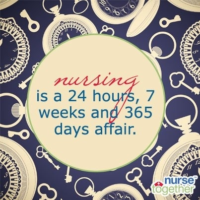 Nursing. Don't go into it for the hours.