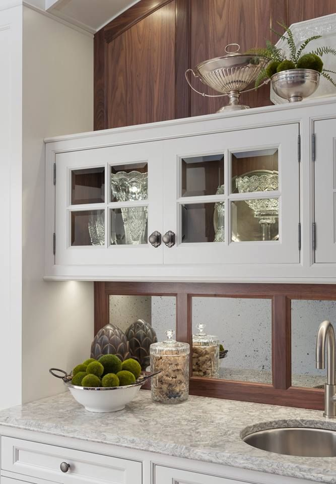 A Closer View Of The Yardley Butleru0027s Pantry By Wood Mode...find