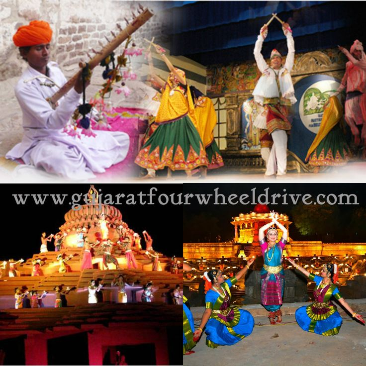 #Gujarat is a state of music lovers and has produced some of the best musicians of #India. #Classic #Dance at the Sun Temple in #Modhera, Gujarat bit.ly/1Grg44P