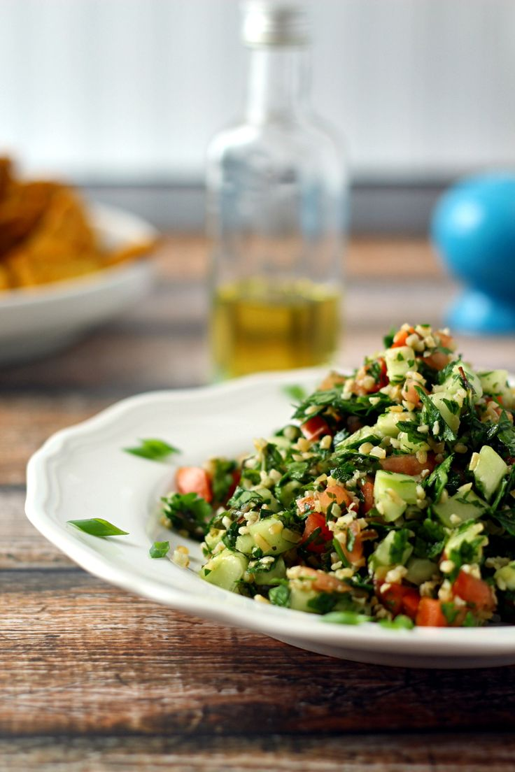 Tabbouleh Salad by thewanderlustkitchen #Salad #Tabbouleh