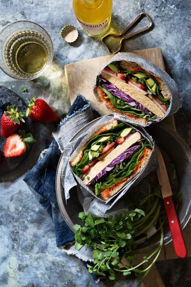 Ultimate Veggie Sandwich via Bakers Royale, food photography, food styling