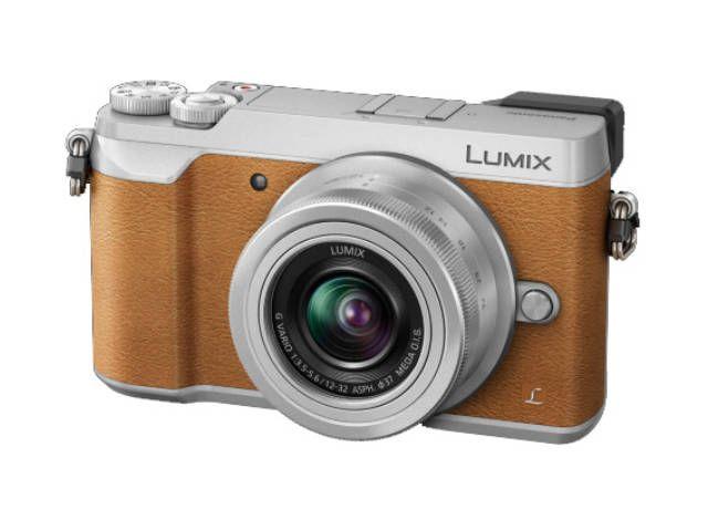 PANASONIC compact hybride Lumix GX80 + 12-32 mm marron