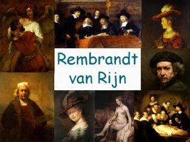 Leuke en informatieve powerpoint over Rembrandt van Rijn voor 5, deze en nog vele andere kun je downloaden op de website van Juf Milou.