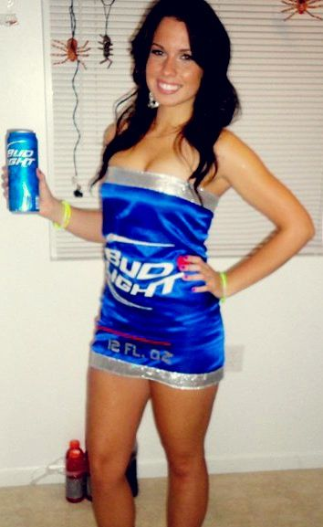 Bud Light Halloween Costume For Women Budlight Beerlovesyou All