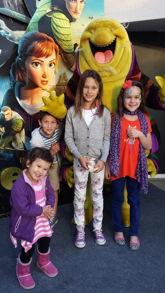 Cute guests ready for the exclusive screening of EPIC #AirNZEpicExperience #Rotorua #NZ #AirNewZealand #Love #Cute