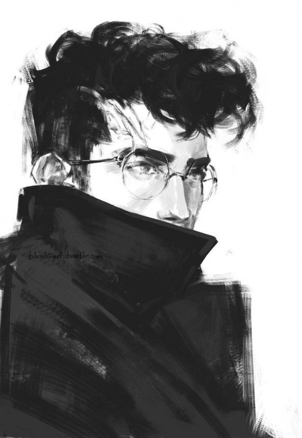 Deviantart Harry Potter Probably In His Twenties Fanartdrawing Harry Potter Fan Art Drawing Harry James Potter James Potter Fanart Harry Potter