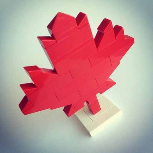 Happy Canada Day to my fellow Canadians! #canadaday #lego