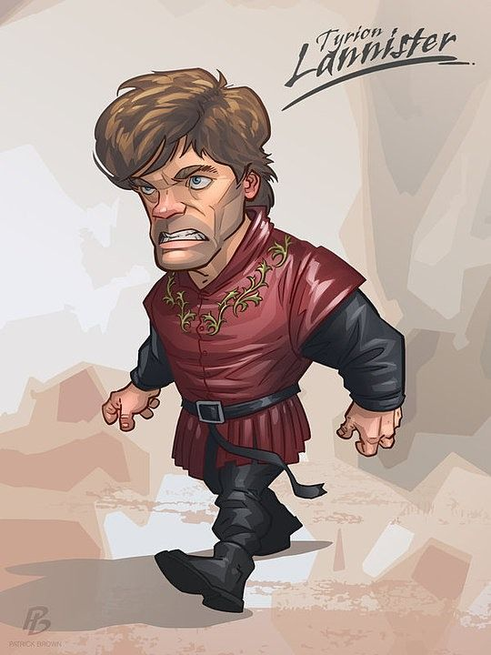 Comic Illustrations by Patrick Brown ~ Game of Thrones ~ Tyrion Lannister