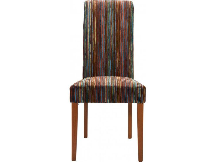 Krzesło Econo Slim Art House brązowe — Krzesła — KARE® Design