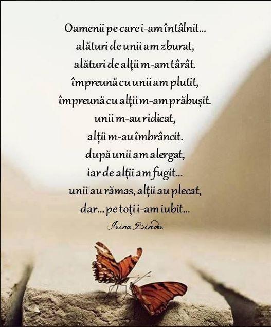 Irina... intre fluturi si iubire...