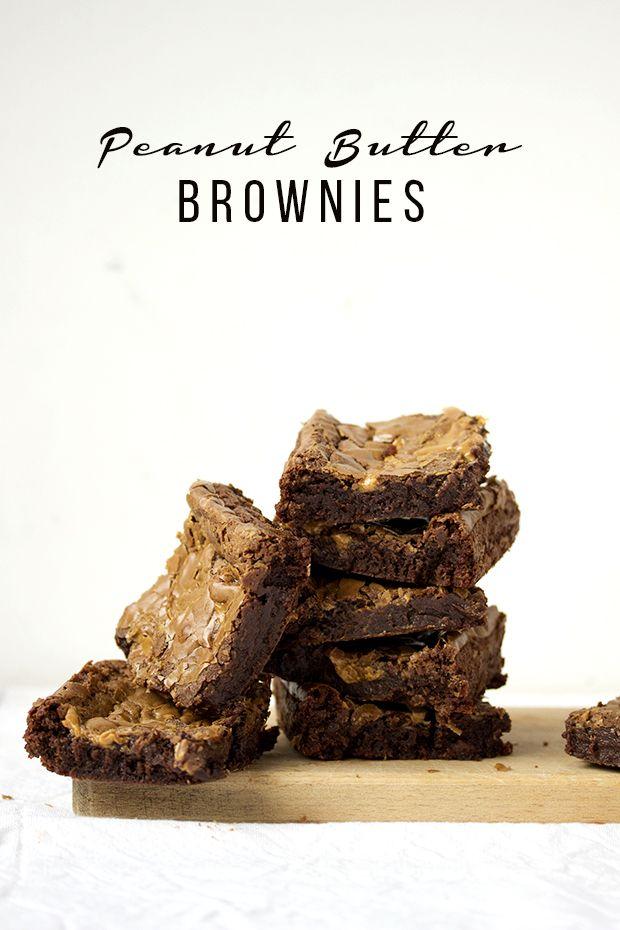 Eat Me!: Брауни с арахисовым маслом / Peanut Butter Brownie...