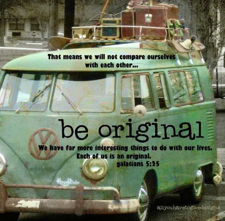 Originality in have an authentic vw van omg wanttttttt