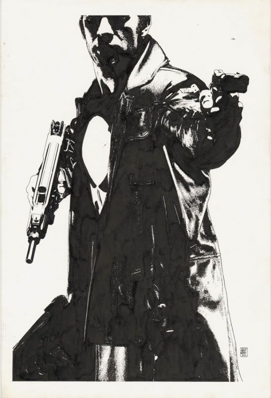Punisher 2 Movie Tease Artwork - ©Tim Bradstreet