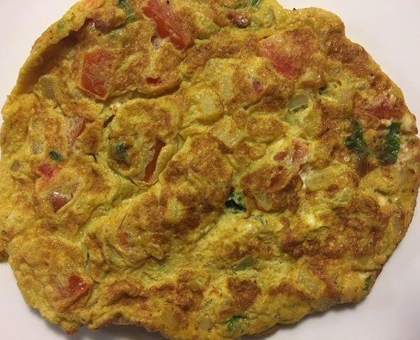 Hausgemachte Omelett-Schlankheitsgetränke