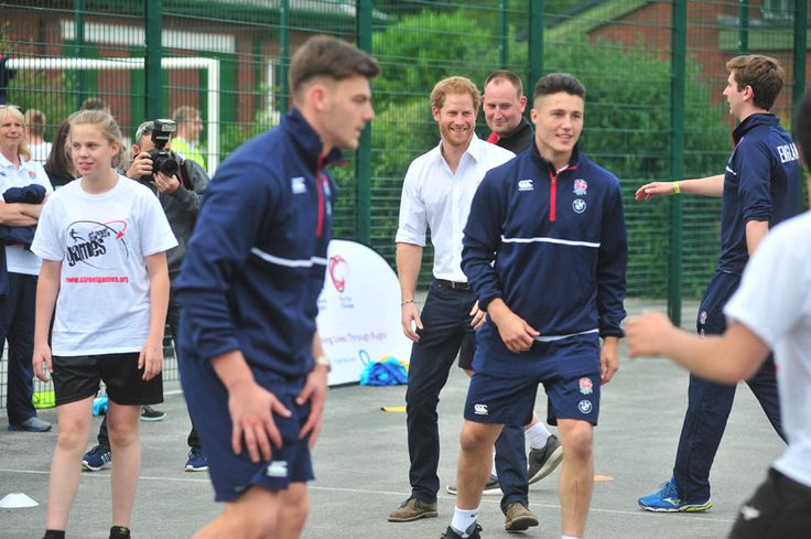 Prince Harry plays touch rugby in Manchester and Prince William celebrates 34th birthday at Euro 2016|Lainey Gossip Entertainment Update