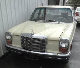 Used 1969 mercedes benz 240d for sale 8 000 at spokane for Spokane mercedes benz