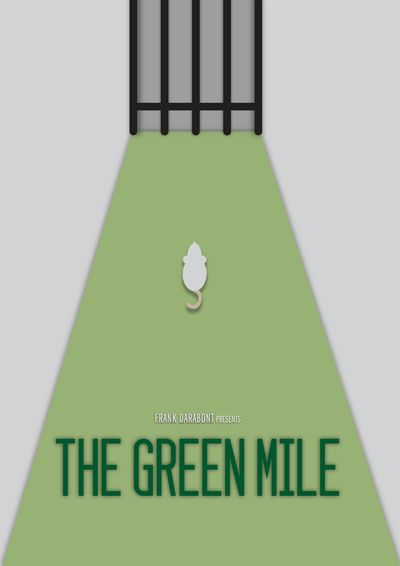 The Green Mile Movie Poster Design by Sabrina Jackson #minimalism #design #inspiration