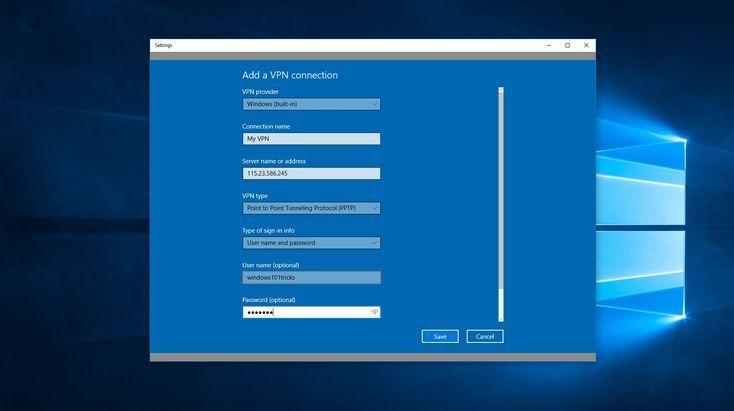 Private Internet Access Windows 10 Vpn