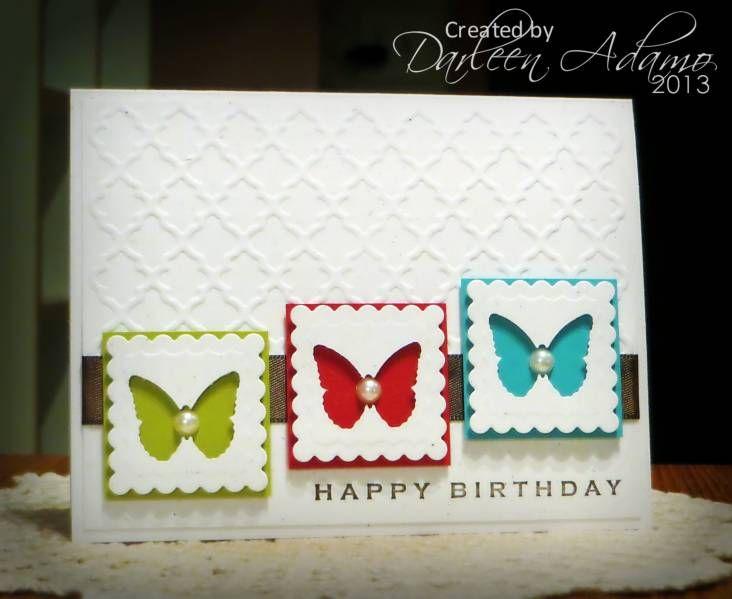 CAS203~Birthday Butterflies