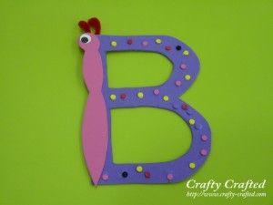 Pinterest Letter I Crafts