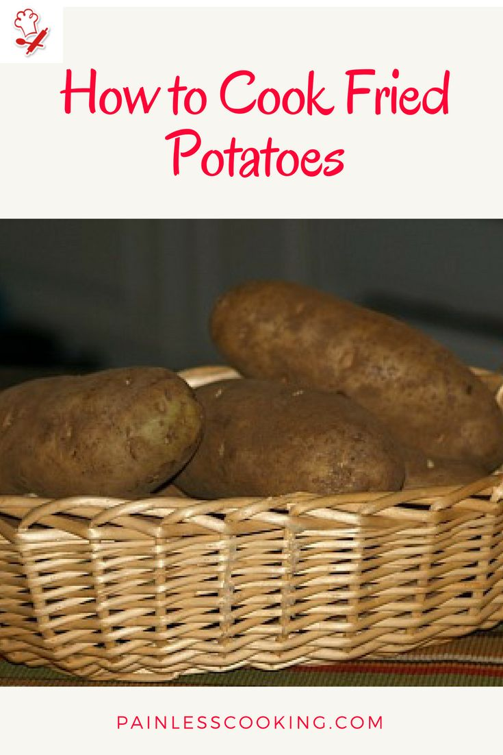 Learn how to cook fried potatoes. Make fried potatoes like my dad used to, frying in strips and cubes and fried mashed potato cakes.