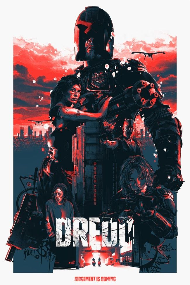 #DREDDSEQUEL Dredd (2012) is a very underrated film. Great concept, excellent acting, plenty of room to work with in a sequel, and a great story.