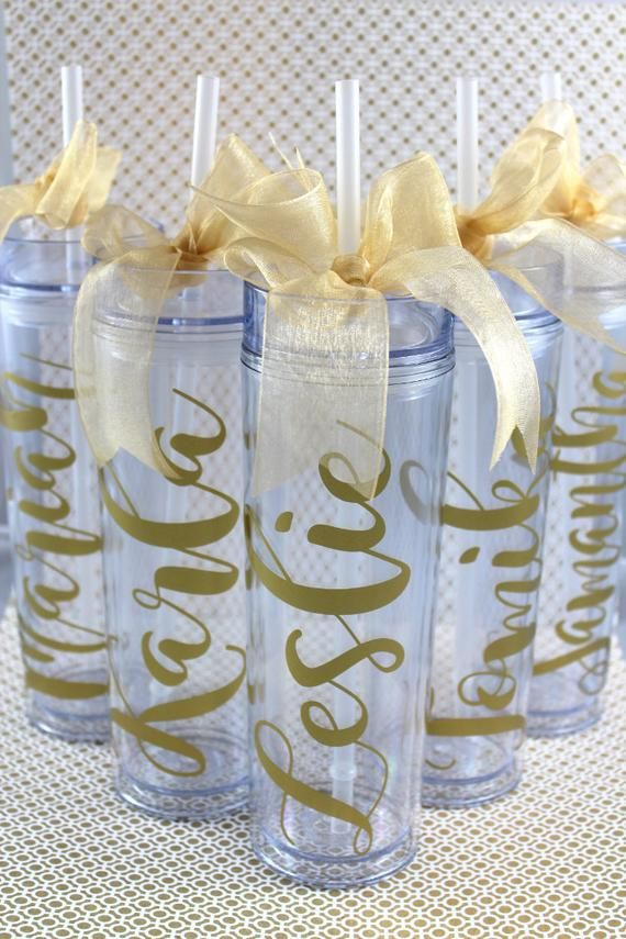 Monogrammed cup Wedding favor Tumbler with straw Girls weekend Bridesmaid gift Bachelorette party Custom Tumbler Personalized Tumbler