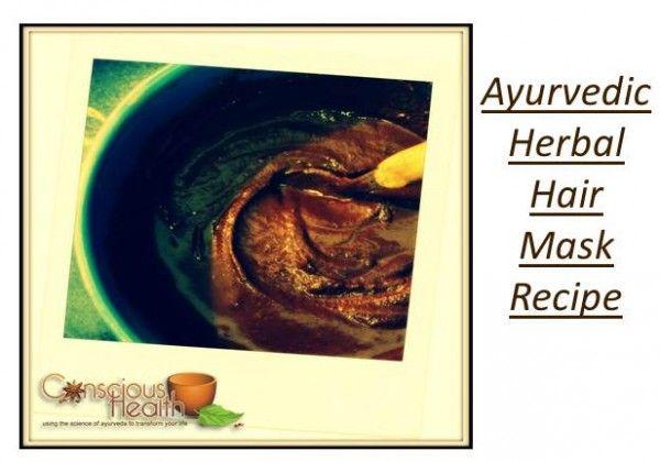 Ayurvedic Herbal Hair Mask