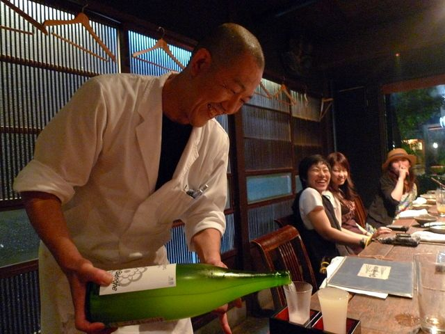 Dining in Kyoto