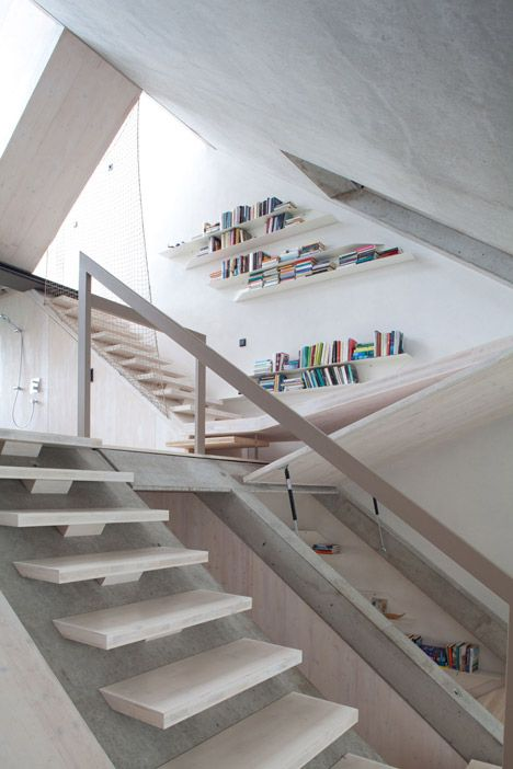 Slides, nets and drawbridges feature in Townhouse B14 by XTH-Berlin