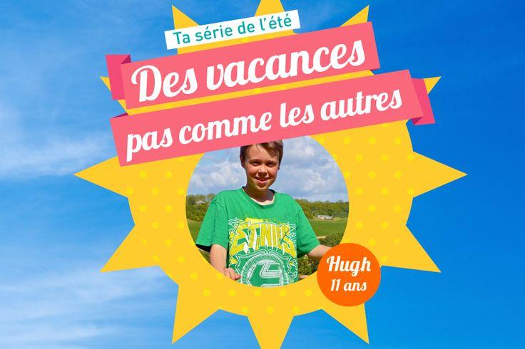 Hugh a 11 ans et demi. Cet été, il part avec sa famille pendant 10 jours à vélo pour rejoindre la dune du Pyla, sur la côte atlantique !