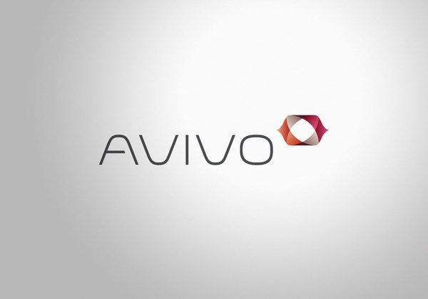 clean and classy logo design. one of those logos i wish i designed myself      Avivo Corporate Identity on the Behance Network