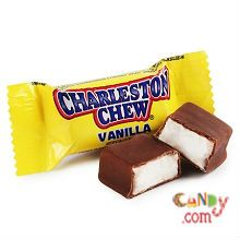Chewy, flavored nougat wrapped in a rich, chocolaty coating have made Charleston Chew an American favorite!