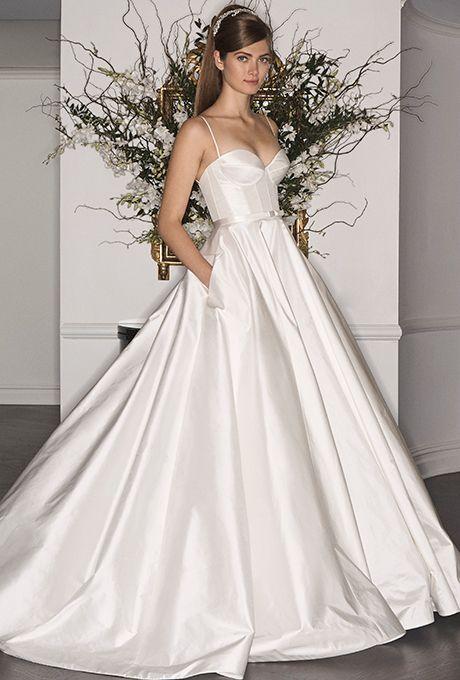 Brides: Legends by Romona Keveza - Fall 2017. Wedding dress by Legends by Romona Keveza