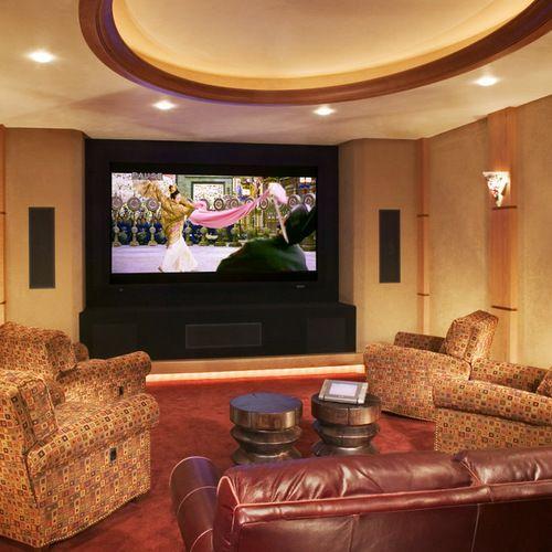 Houzz | Media Room Design Ideas & Remodel Pictures