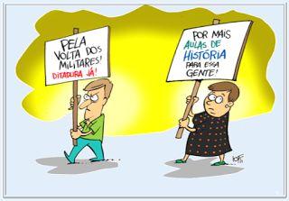 PODER MILITAR E SOCIEDADE http://almirquites.blogspot.com/2017/07/poder-militar-e-sociedade.html?spref=tw Comentário sobre a apologia à Intervenção Militar, que mostra as suas incongruências.