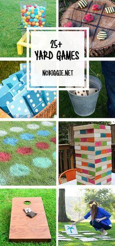 25+ Yard Games   NoBiggie.net