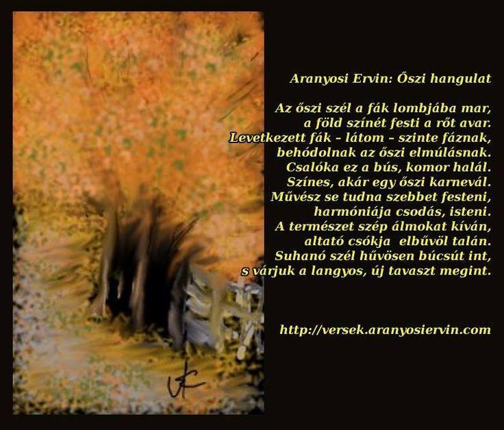 ArANYOSI ERVIN    ŐSZI HA