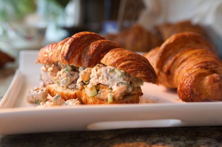 Just saw this on Food Network and drooling: Fried Chicken Salad Sandwich recipe by Damaris Phillips