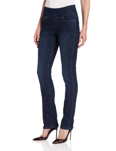 $69 Malia Slim Pull-On, Blue Shadow Jean #Blue #jeans women #women #clothes #Boutique #fashion #2013 #blue