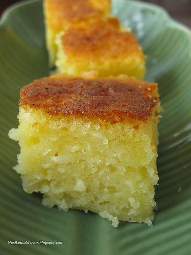Baked Cassava cake (I love cassava cake!)