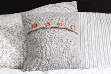 Pletený polštář z příze Geisha | PLETENÍ – NÁVODY